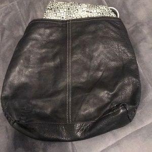 Lucky brand | Dark brown leather | Hobo bag